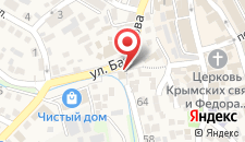 Гостевой дом Кавказская пленница на карте