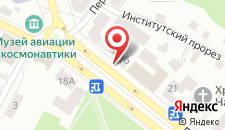 Отель Голд на карте