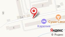 Апартаменты Карелия на карте