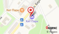 Отель Хит Парк на карте