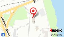 Отель Турист на карте