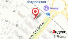 Мини-отель Прометей на карте