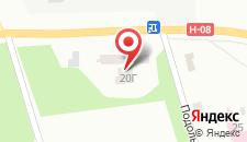 Конгресс-отель Rodina на карте