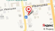 Отель Особняк на Карла Маркса на карте