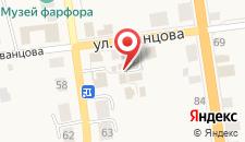 Гостевой дом Тиамо на карте