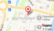 Отель Оникс Торжок на карте