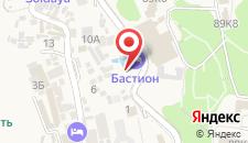 Гостиница Бастион на карте