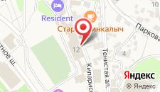 Отель Судак Делюкс на карте