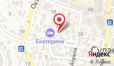 Гостевой дом Сейран на карте