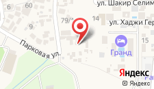 Гостевой дом У Совы на карте
