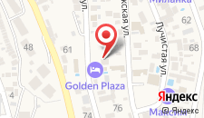 Гостевой дом Янтарный на карте