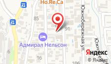 Гостевой дом Бунгало у Романа на карте