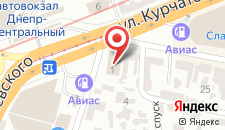 Отель Abri на карте