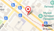 Отель Астория на карте