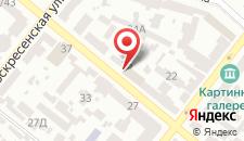 Отель Бон на карте