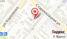 Отель Reikartz Днепропетровск на карте