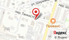 Гостиница Sun City на карте