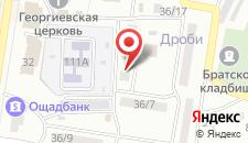 Мини-отель Трио на карте