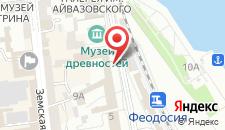 Гостиница Астория на карте