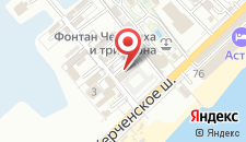 Гостиница КамаПоль на карте