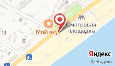 Туристско-оздоровительный комплекс Золотой Пляж на карте