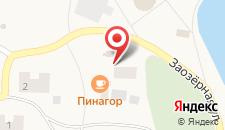 Гостевой дом ПинаГор на карте