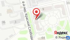 Мини-гостиница Пролетарская на карте