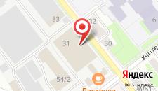 Отель Орион Центр на карте