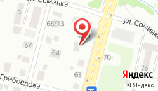 Гостевой дом Соминка 17 на карте