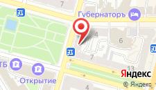 Отель Гайд Парк на карте