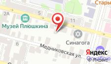 Гостиница Тверская Усадьба на карте