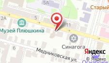Отель Тверская Усадьба на карте