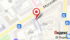 Гостиница Дежавю на карте