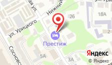 Отель Престиж на карте