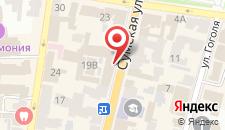 Отель Hotel 19 на карте