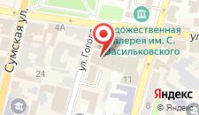 Отель Чичиков на карте