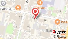 Отель Винтаж на карте