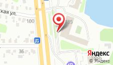 Отель Дружба на карте