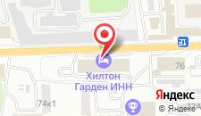 Гостиница Хилтон Гарден Инн Калуга на карте