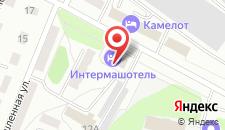 Гостиница Интермашотель на карте
