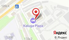 Гостиница Kaluga Plaza на карте