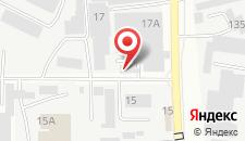 Гостиница Полярная звезда на карте