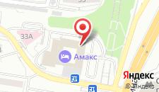Гостиница АМАКС Конгресс-отель на карте