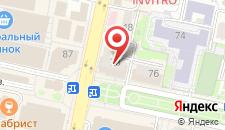 Гостиница Винсент на карте