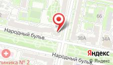 Мини-отель 7 чудес на карте