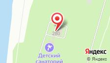 Гостиница Веретено на карте