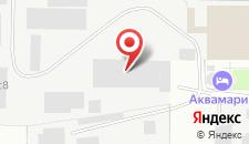 Отель Аквамарин на карте