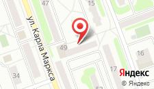 Апартаменты Маркса 49 на карте