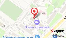 Отель Конаково на карте