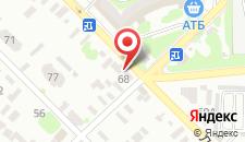 Отель Арле на карте